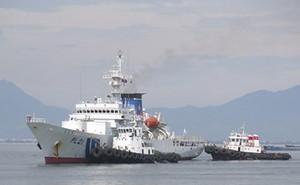 Tàu huấn luyện Cảnh sát biển cỡ lớn Nhật Bản thăm Đà Nẵng