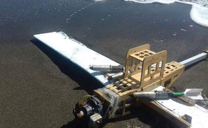 """UAV tấn công căn cứ Nga ở Syria """"sã cánh"""", trôi dạt vào bờ biển Thổ Nhĩ Kỳ"""