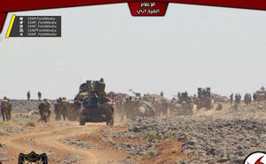 """""""Hung thần Syria"""" tốc chiến truy diệt IS trên hoang mạc Sweida"""
