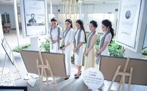 """12 Hoa hậu, Á hậu tỏa sáng tại ngày hội """"Hành trình từ trái tim"""""""