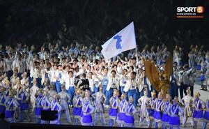 Hàn - Triều dùng chung lá cờ đặc biệt tại lễ khai mạc ASIAD 18