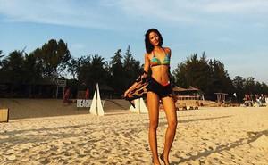 H'Hen Niê khoe ảnh bikini thời tóc dài, chưa đăng quang hoa hậu