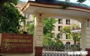 Thứ trưởng GD-ĐT: Có thể hủy bài thi, không tiếp nhận thí sinh được sửa điểm ở Hoà Bình, Sơn La