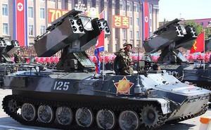 Hình ảnh quân đội và vũ khí Triều Tiên trong lễ diễu binh 9/9