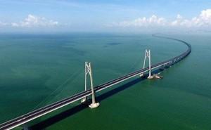 Chuyên gia lo ngại bão Mangkhut làm sập cây cầu dài nhất thế giới tại Trung Quốc