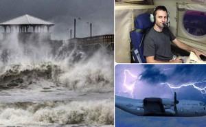 """Nghề """"săn bão"""" - những người bay thẳng vào giữa tâm siêu bão vì mục đích khoa học"""