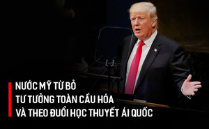 Bài phát biểu công kích Trung Quốc, dằn mặt Iran, Syria của TT Trump tại LHQ