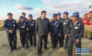 """2 bức ảnh, 1 sự """"trùng hợp"""": Tiết lộ vị thế của ông Tập Cận Bình so với Mao Trạch Đông"""