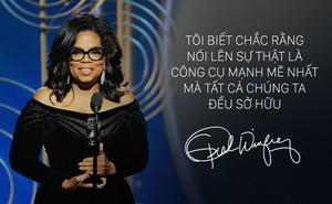 Toàn văn phát biểu chấn động, khiến dân Mỹ rào rào đòi Oprah Winfrey tranh cử tổng thống