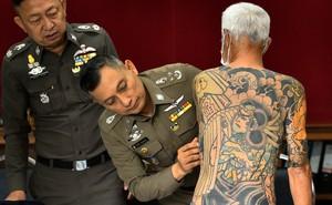 24h qua ảnh: Trùm mafia Nhật Bản bị bắt vì lộ hình xăm trên mạng