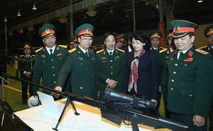 Cận cảnh súng bắn tỉa hạng nặng OSV-96 do Việt Nam sản xuất