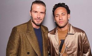Neymar - Beckham, khi hai biểu tượng thời trang hội ngộ ở Paris
