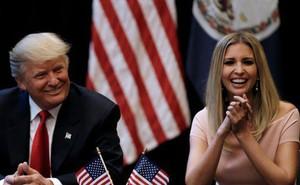 """Con gái đối mặt điều tra, ông Trump """"không lo"""""""