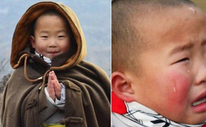 Tiểu hoà thượng 3 tuổi ở Thiếu Lâm Tự khiến cộng đồng mạng phát cuồng vì đáng yêu