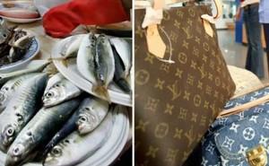 Chàng trai khóc ròng khi bà ngoại dùng túi LV 30 triệu đi chợ đựng cá tươi, còn khen không bị rỉ nước