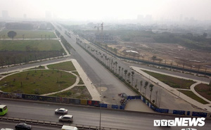 Ảnh: Cận cảnh tuyến đường 1.500 tỷ đồng không phải ai cũng biết tại Hà Nội