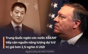 Mỹ nói TQ ngăn các nước ASEAN tiếp cận kho năng lượng 2.500 tỉ USD ở Biển Đông, Bắc Kinh phản bác