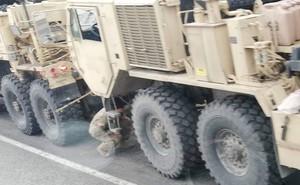 Đoàn xe quân sự Mỹ tai nạn ở Ba Lan: Nhiều xe dính chùm