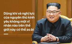 Triều Tiên ca ngợi ông Kim Jong Un: Là người tài trời ban, quá hoàn hảo và rực rỡ!