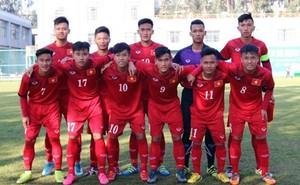 U18 Việt Nam may mắn hạ gục đối thủ nhờ được hưởng penalty đúng phút 90