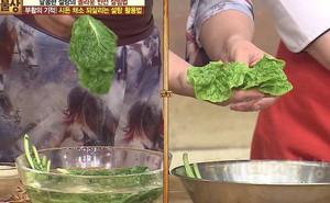 Thấy rau héo đừng vứt đi, ngâm vào thứ nước nhà nào cũng có này và rau sẽ tươi trở lại như mới ngay lập tức