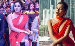 Hoa hậu Kỳ Duyên phản pháo khi bị soi thân hình sồ sề, phát tướng