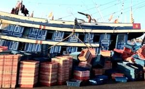 4 ngư dân nhập viện cấp cứu nghi do ngộ độc khí