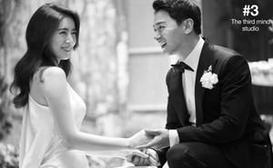 """Tài tử """"Sắc đẹp ngàn cân"""" khoe ảnh cưới mà dân tình chỉ dán mắt vào cô dâu đẹp như Hoa hậu, còn na ná Kim Tae Hee"""