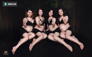 4 chị em ruột không hẹn mà cùng bầu, câu chuyện gia đình càng khiến dân mạng ngưỡng mộ