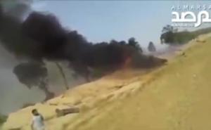 Chiến sự Libya: Dính đạn của LNA, máy bay quân sự GNA bốc cháy dữ dội, phi công thiệt mạng