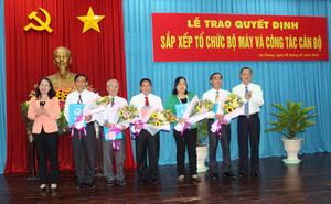 Nhân sự mới Đà Nẵng, An Giang, Thanh Hóa