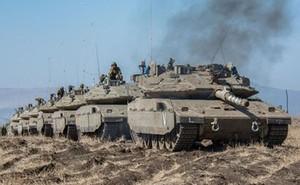 Siêu tăng Merkava IV của Israel biến mất cùng tổ lái gần biên giới Ai Cập