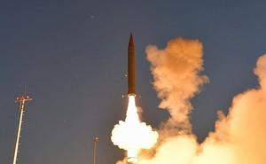 Quân đội Nga phát hiện Israel thử tên lửa trên Địa Trung Hải