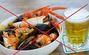 Những sai lầm tuyệt đối tránh xa khi ăn hải sản
