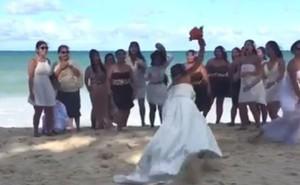 Những sự cố trong đám cưới khiến các đôi uyên ương 'cười ra nước mắt'