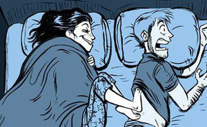 """Ford ra mắt giường """"công bằng"""": Hễ nằm ngủ láo nháo là bị lôi về chỗ cũ"""