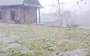 Vì sao Bắc bộ liên tiếp mưa đá, mưa dông?