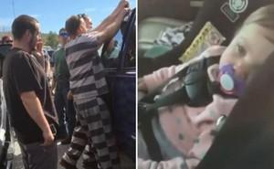 """Thấy đứa trẻ thoi thóp thở trong chiếc xe hơi, 5 tù nhân vừa được thả đã """"lập công"""" nhờ hành động nhanh trí này"""