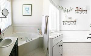 Những mẹo thú vị có thể bạn không nghĩ ra khi cải tạo phòng tắm nhỏ
