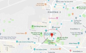 Công an thông tin việc phong tỏa đường gần Tân Sơn Nhất