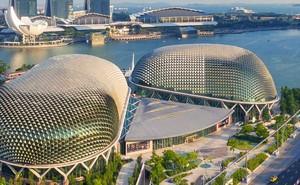 Những công trình kiến trúc độc đáo và là điểm đến hút khách ở Singapore
