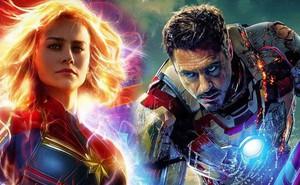 """Tạo riêng một siêu chiến giáp để khắc chế Captain Marvel, nhưng Iron Man vẫn bị """"bán hành"""" đến hôn mê bất tỉnh"""
