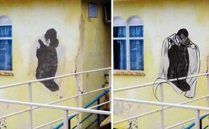 """Trải qua ảo giác khuôn mặt """"Pareidolia"""" ở mọi nơi, họa sĩ Nga bèn vẽ lại cho mọi người cùng xem"""