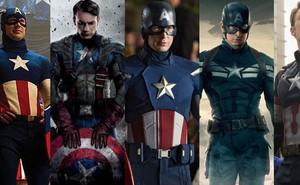 """Tất tần tật tiểu sử về 8 bộ trang phục """"cực chất"""" của Captain America trong MCU"""