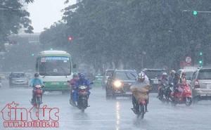 Ba miền đều có mưa dông vài nơi, khả năng lốc, sét, mưa đá và gió giật mạnh