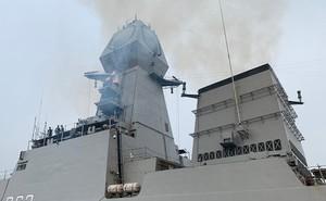 Chùm ảnh: Nga, Ấn Độ khoe tàu chiến kỷ niệm 70 năm thành lập Hải quân Trung Quốc