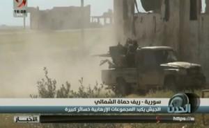 """Sư đoàn """"Hổ Syria"""" bẻ gãy cuộc phản kích điên cuồng của thánh chiến ở Hama"""