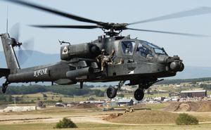 Mỹ chuyển trực thăng tấn công AH-64E Apache cho Ấn Độ