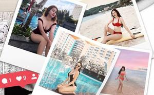 Lại phải bóc info hội gái xinh mới nổi sexy nhất Instagram: Nghe nói nắng Sài Gòn không có cửa hot bằng ha?