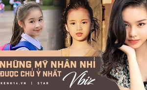 """3 mỹ nhân nhí đang """"hot"""" nhất Vbiz: Bản sao Phạm Hương đóng cảnh nóng năm 13 tuổi đến Hoa hậu Hoàn vũ khi chỉ vừa lên 7"""